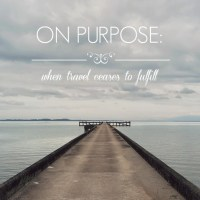 On purpose: when travel ceases to fulfill