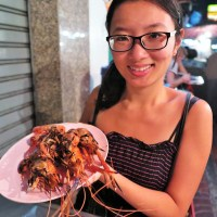 [Bangkok] Giant prawns and bird's nests in Chinatown, Bangkok