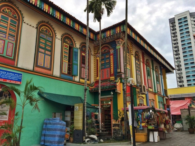 colorful Little India