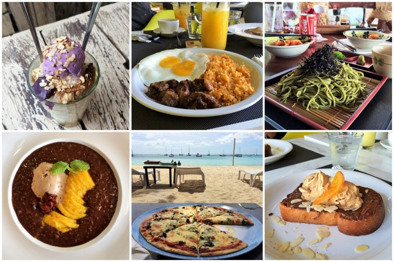 Boracay cheat day collage