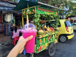 Week 38: Siem Reap - can't beat these $1 fruit shakes in town