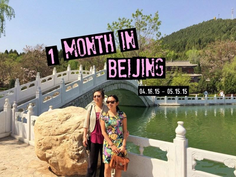 1 month in Beijing