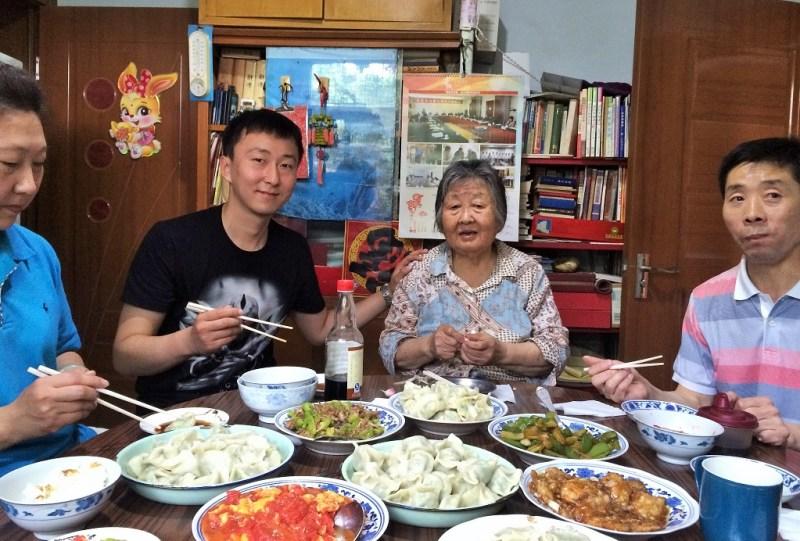 beijing family dinner