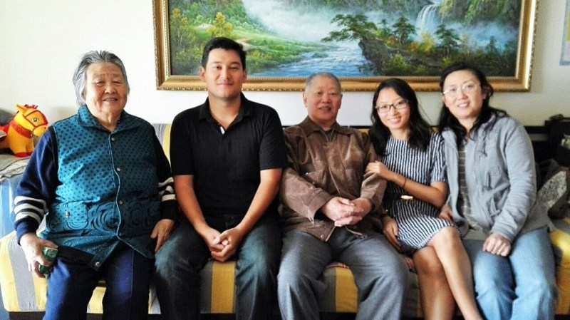 beijing family photo