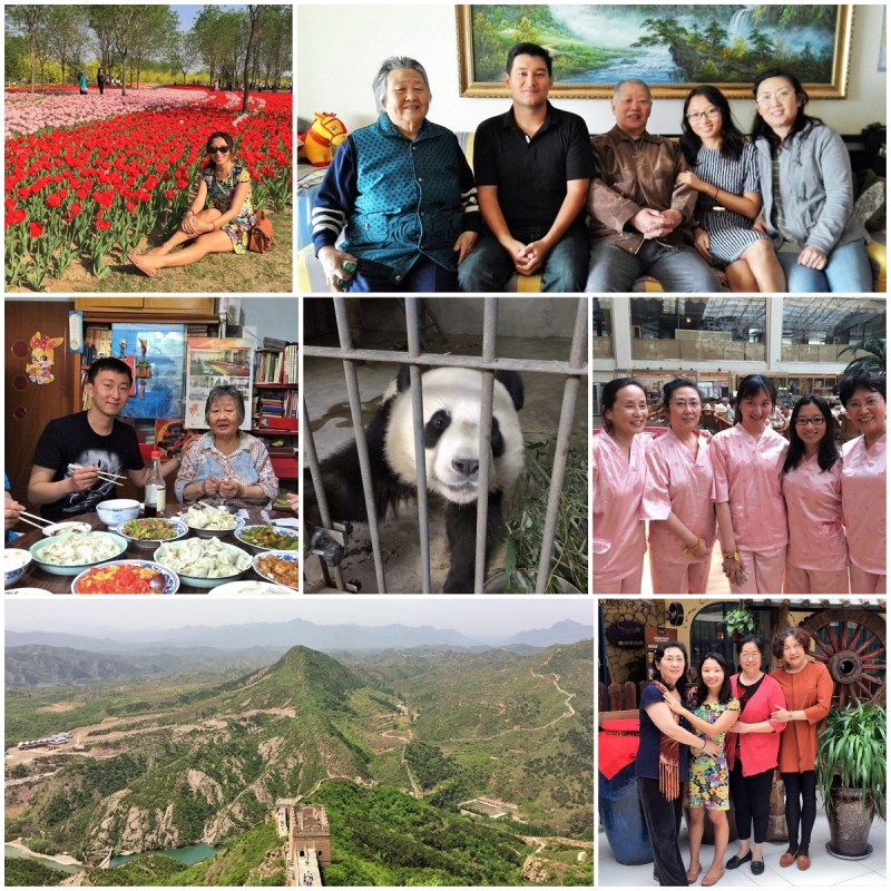 beijing summary collage