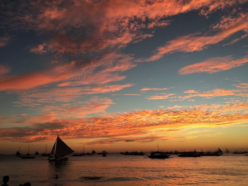 Boracay sunset 3