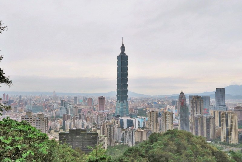 Taipei Elephant Mountain hike
