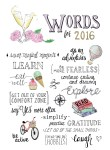 Words for 2016