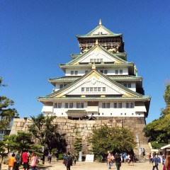 Week 27: Osaka, Japan - back on the road! This is Osaka Castle