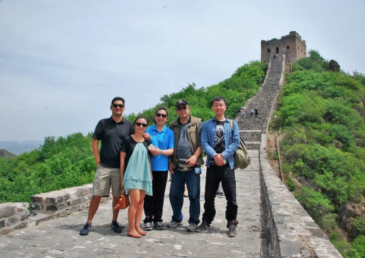 Week 6: Beijing - the Great Wall with my uncle's family!