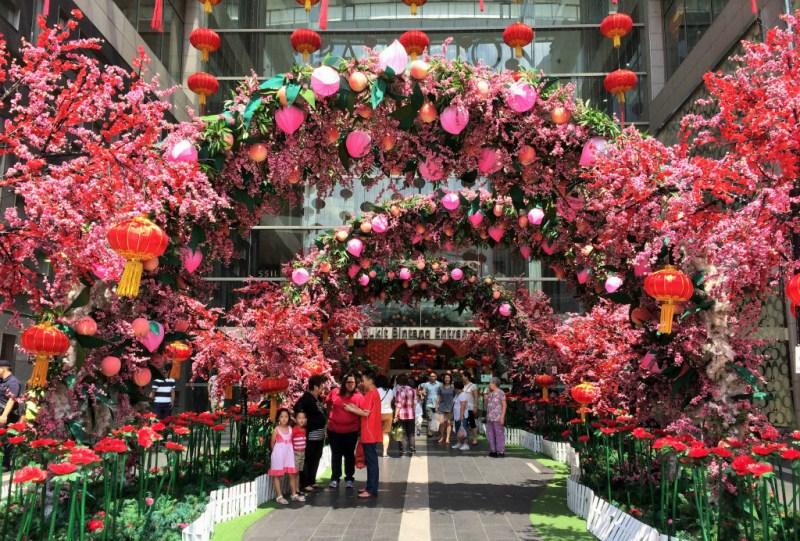 Kuala Lumpur Pavilion decorations 1