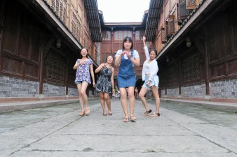 Week 17: Chengdu - day trip with the roomies