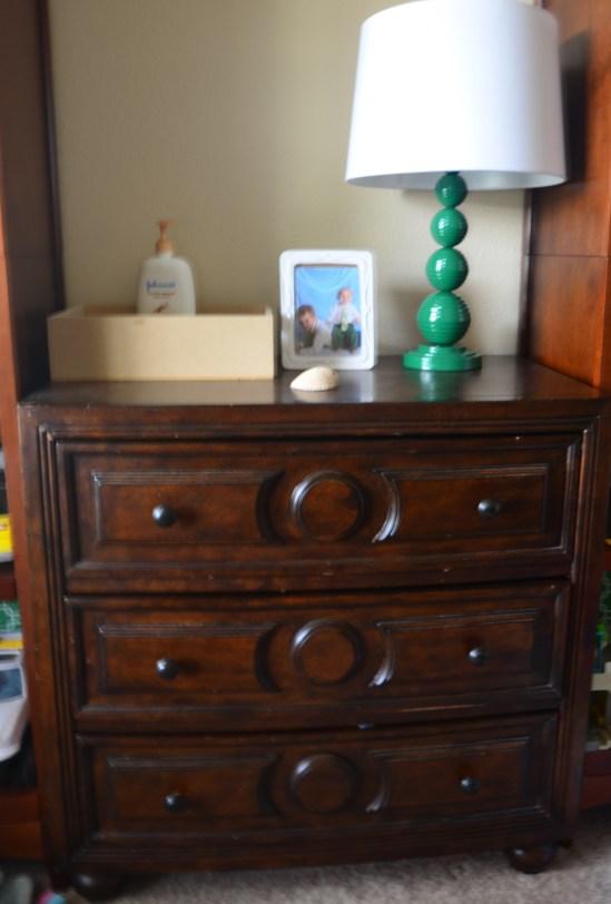 Luke's Unpainted Dresser