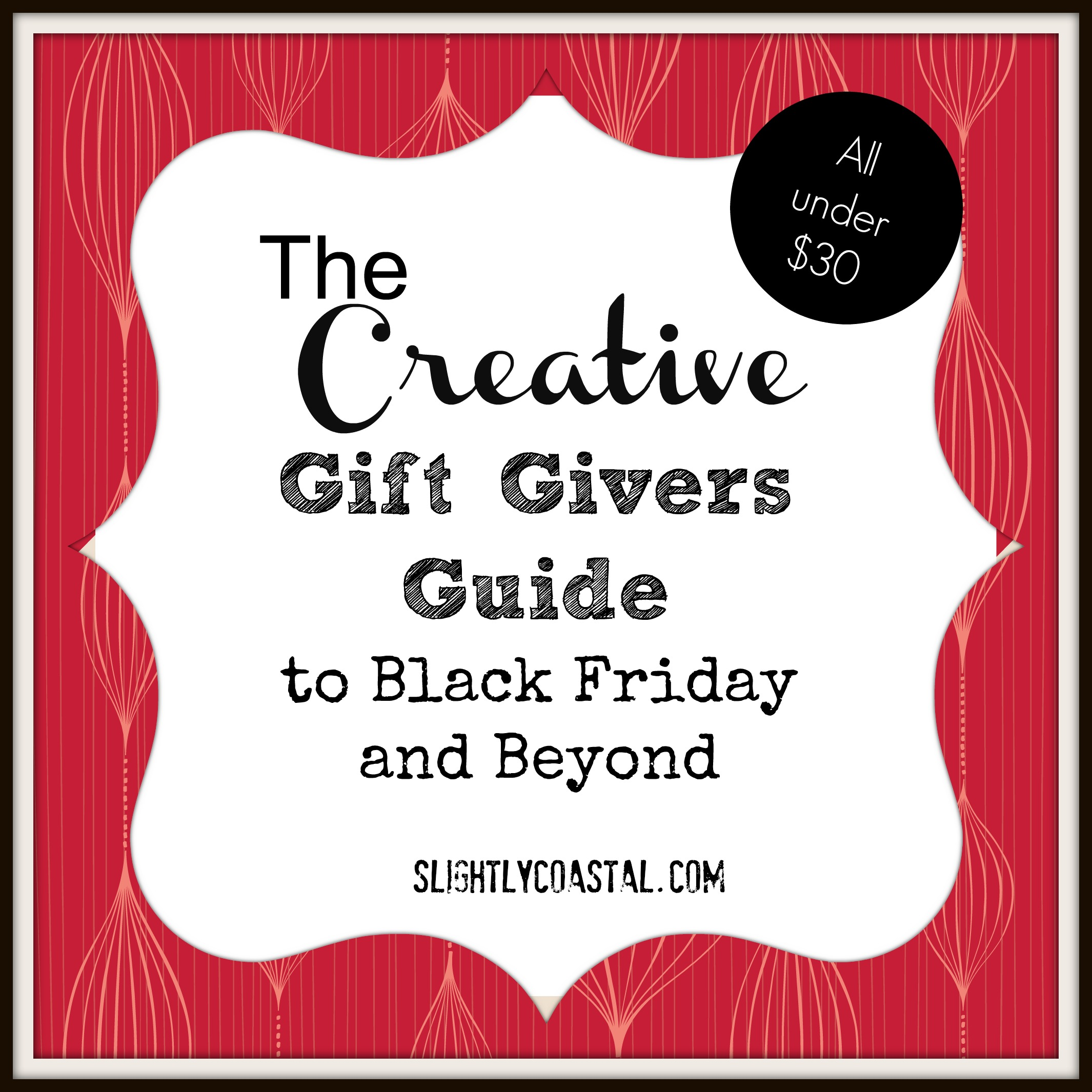 Black Friday Gift Guide-Under $30 |