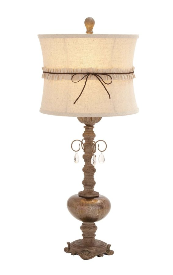 Finally a French Country lamp that has some style and isn't through the roof expensive. This French Country lamp is actually affordable.