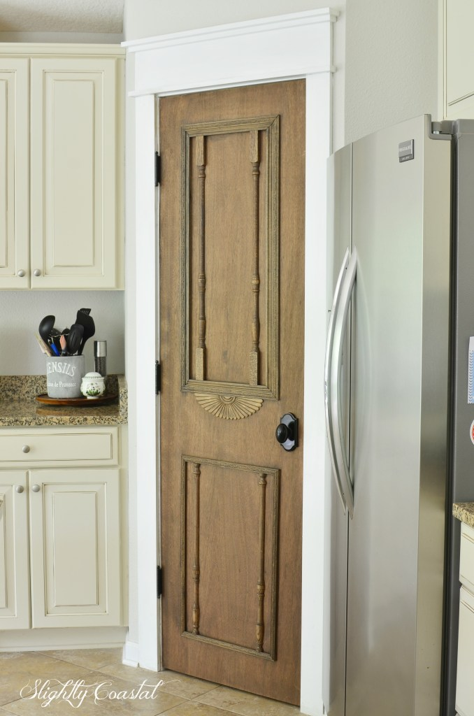 Diy Antique Pantry Door Slightly Coastal
