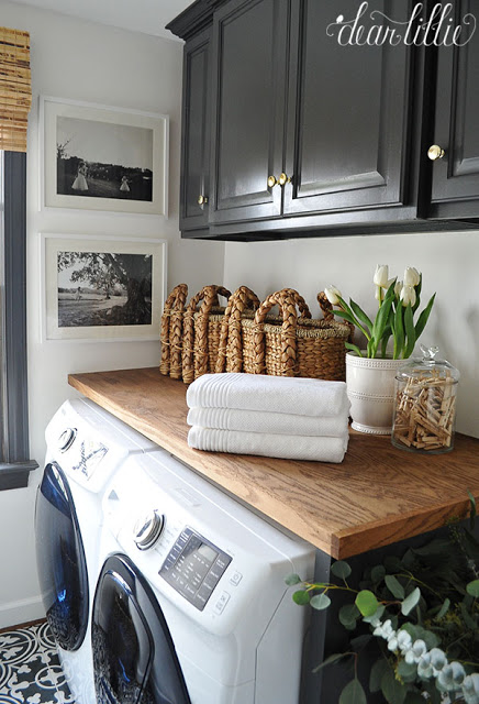 Here are examples of some of the things I want to do in the laundry room. Laundry Room Design Plan   Slightly Coastal