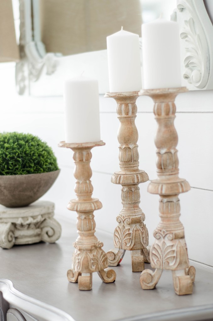 French Country Lamp Candlesticks Kirklands