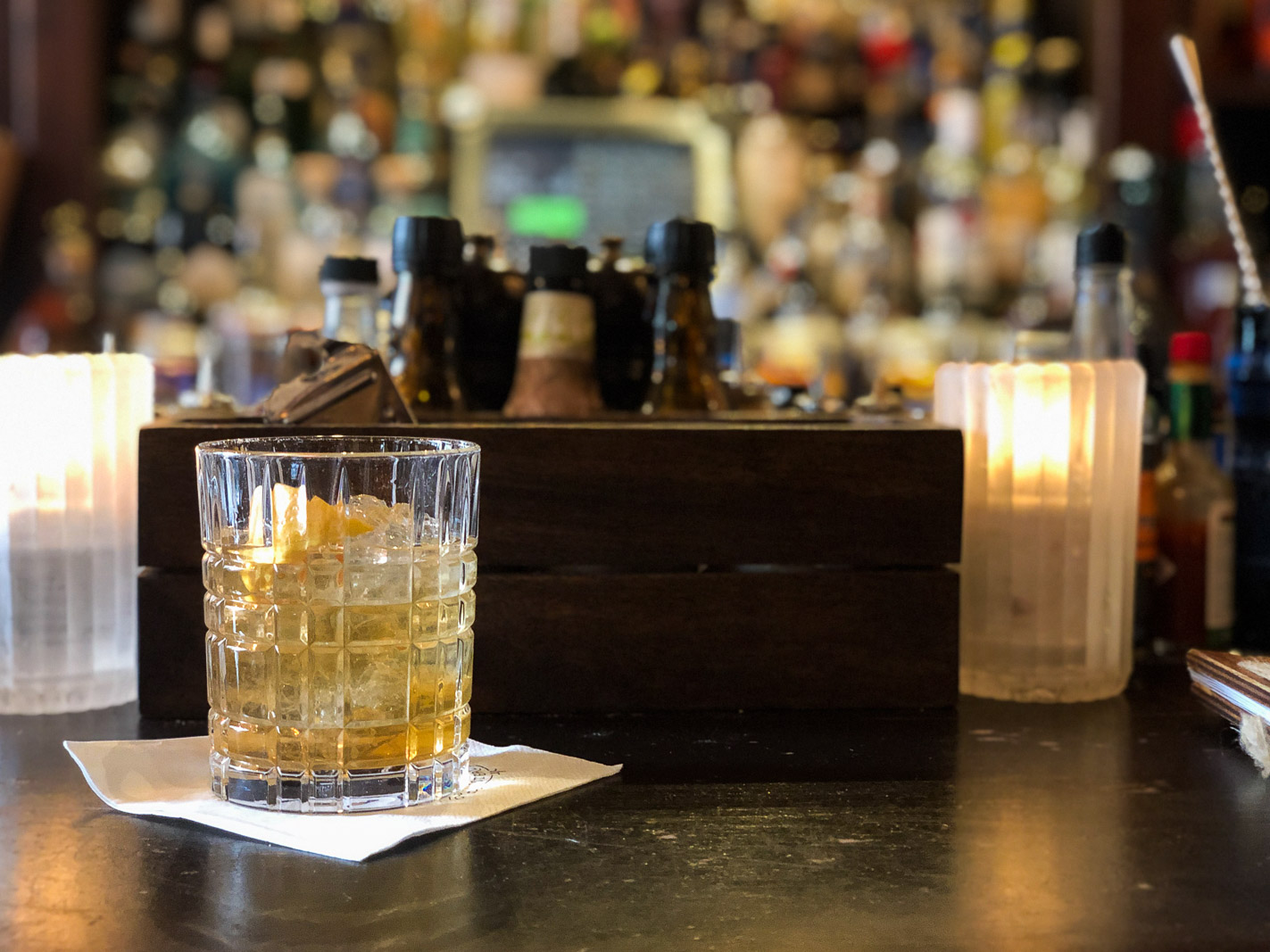 The Professor Cocktail at Tales and Spirits