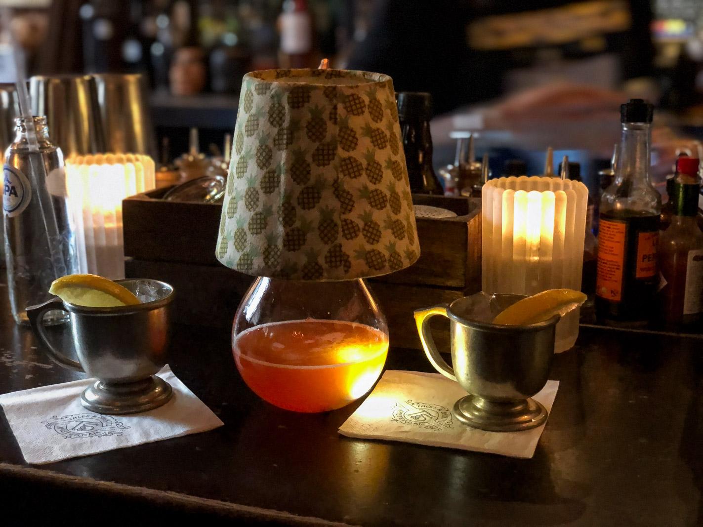 Eureka cocktail at Tales and Spirits