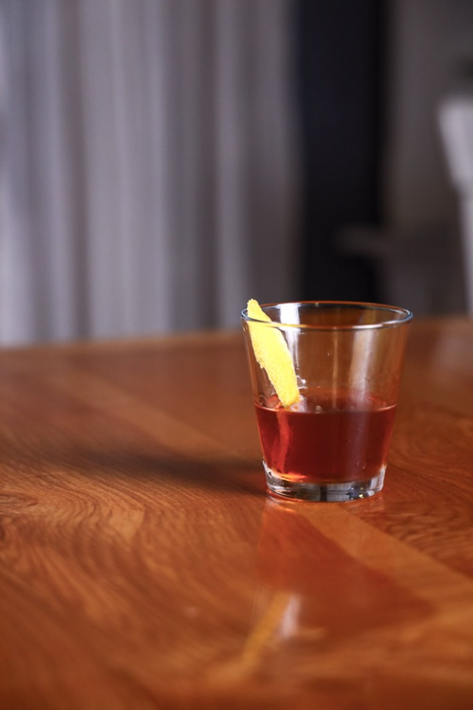 A Sazerac Cocktail