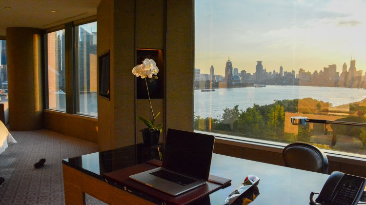 Banyan Tree Shanghai view