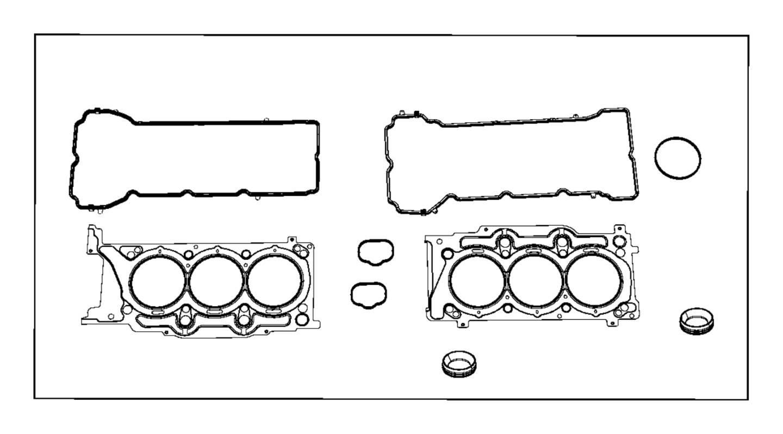 Dodge Durango Engine Intake Manifold Gasket Liter