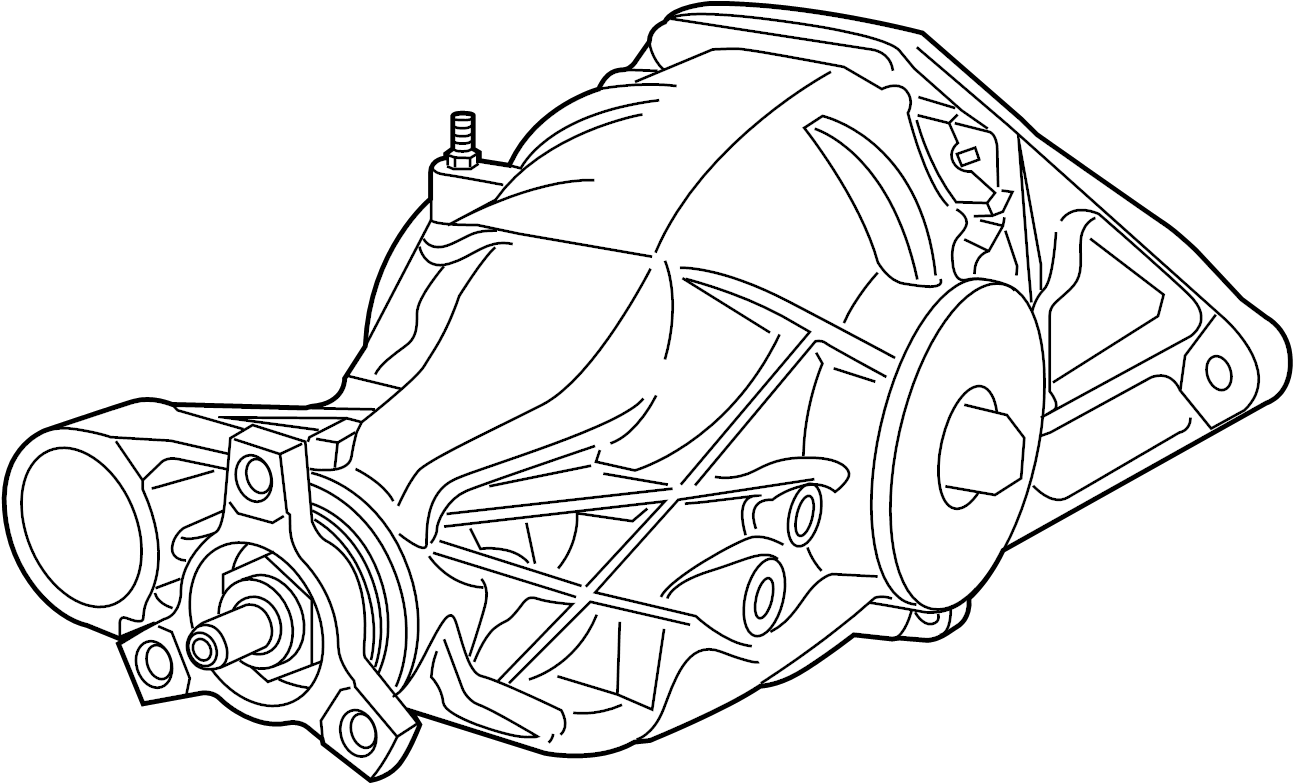 Dodge Durango Differential Housing Rear