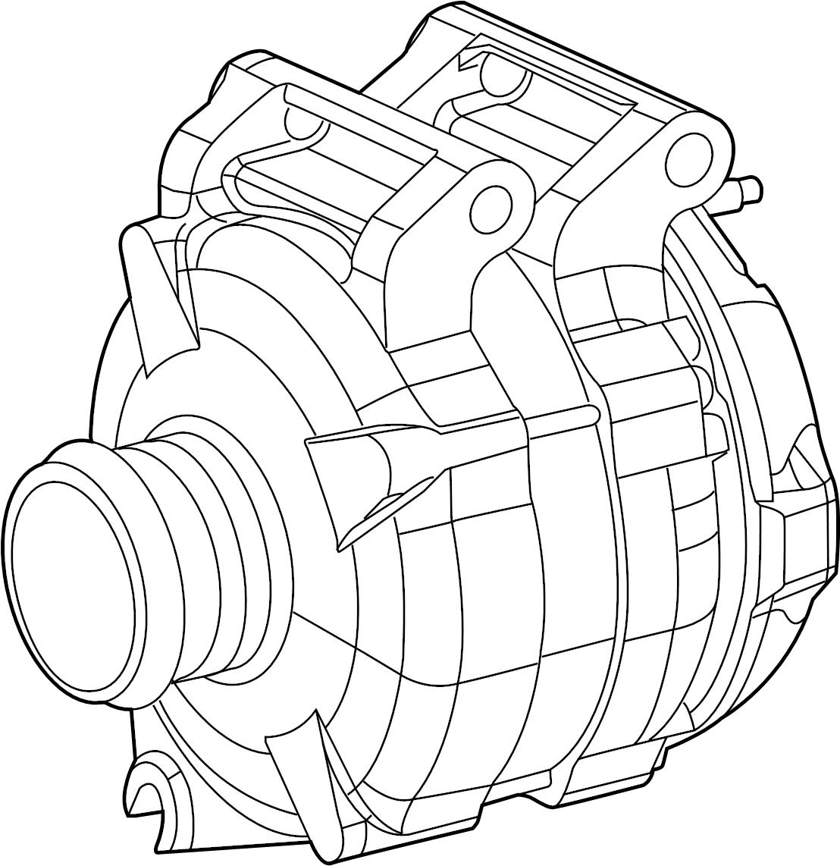 Jeep Cherokee Alternator Engine Generator 3 2 Liter