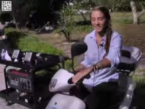 Stromgenerator und Scooter