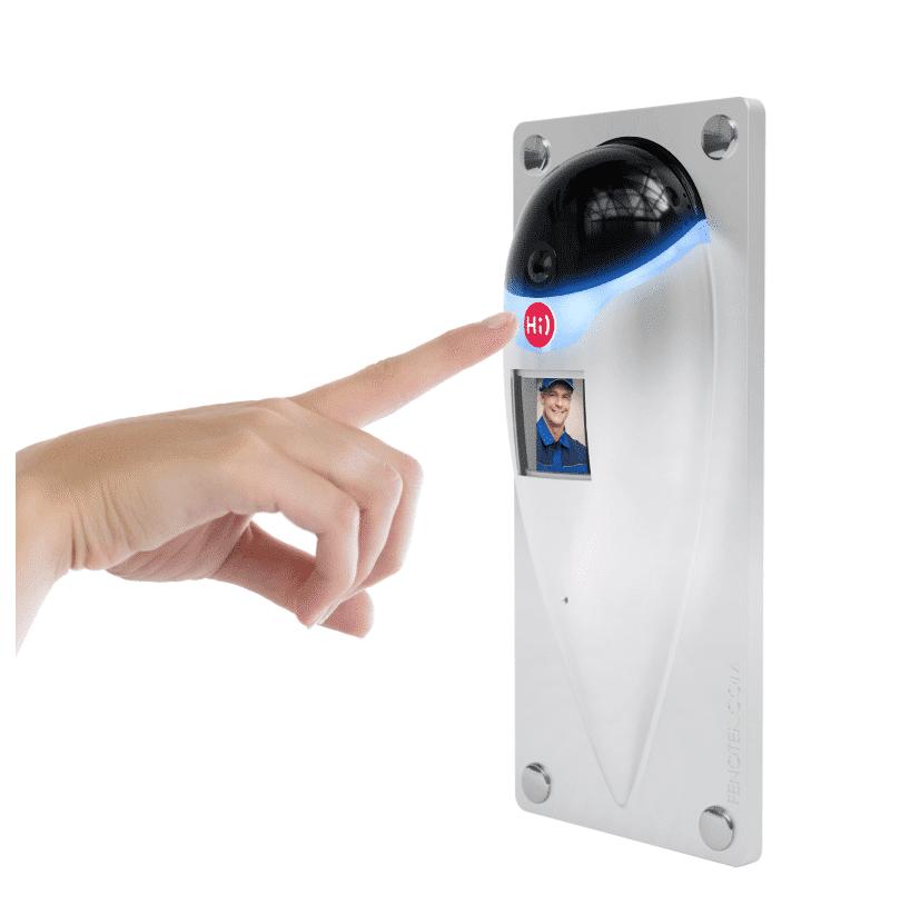 Fenotek , hoe werkt slimmedeurbel, slimme deurbellen, deurbel met camera, wifi deurbel
