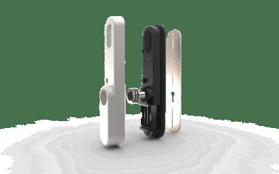 invited smartlock, slim deurslot, deurslot domotica, afstandbediening voordeur, doorsnee