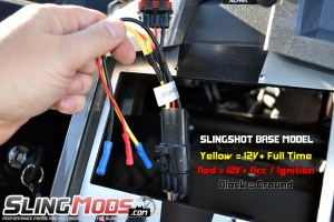 Polaris Slingshot Aftermarket Stereo Wiring Harness