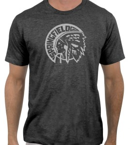 Springfield-Indians-hockey-1946-1951-charcoal-grey-tshirt