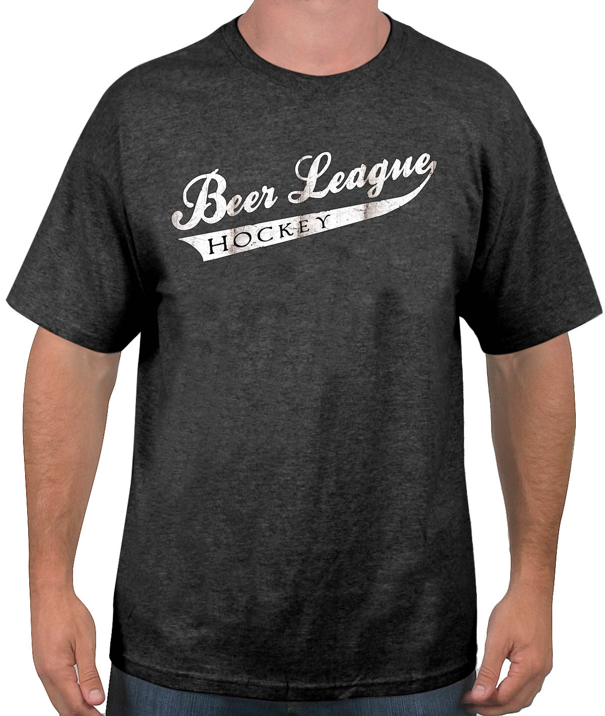 a5e0571963 Buy the Beer League Hockey T-shirt Online at Slingshot Hockey