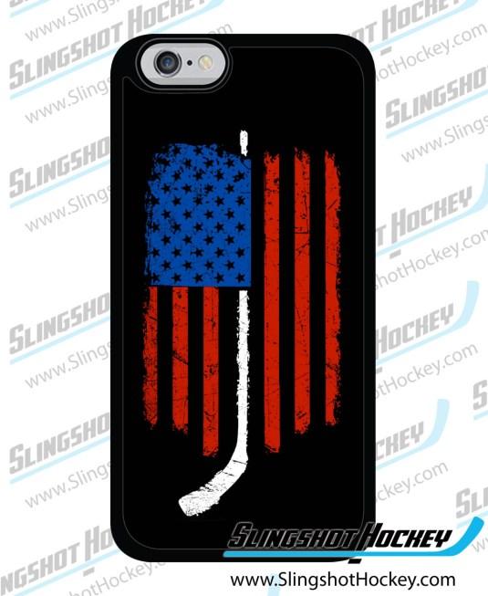 american-flag-hockey-iPhone-6 case