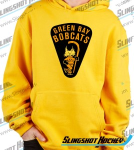 green-bay-bobcats-mens-yellow-sweatshirt-front-hockey