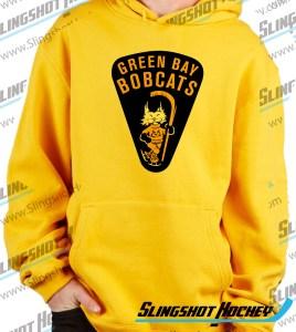 green-bay-bobcats-mens-yellow-sweatshirt-front-hockey