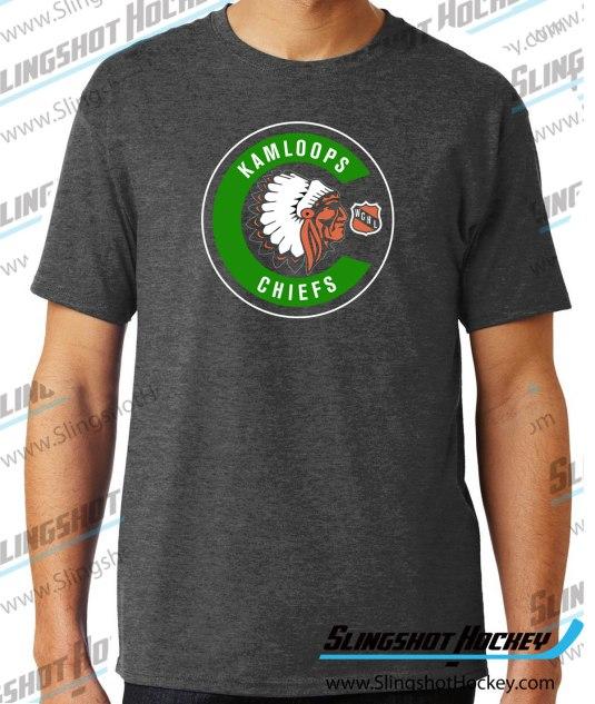 kamloops-chiefs-charcoal-heather-grey-hockey-tshirt