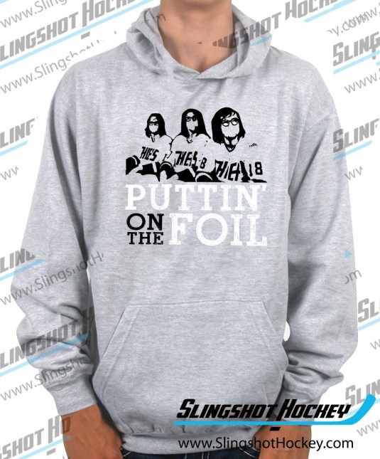 puttin-on-the foil-heather-grey-hockey-hoodie