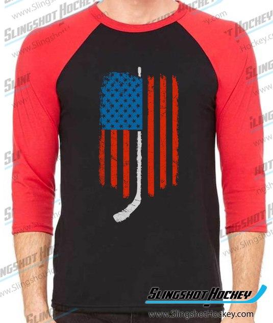 American-Flag-Hockey-raglan-black-red-slingshot-hockey