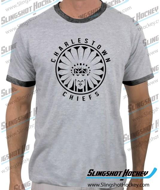 Charlestown-Chiefs-Warrior-slapshot-ringer-heather-grey-tshirt-SH