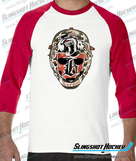 Gilles-Meloche-Cleveland-Barons-raglan-white-red-slingshot-hockey