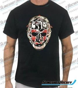 Gilles-Meloche-Cleveland-Baronsblack-mens-hockey-tshirt