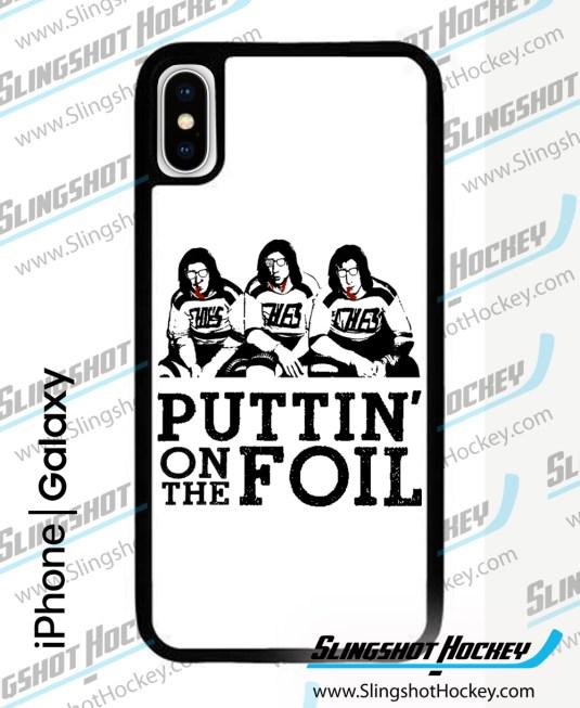 Puttin' on the Foil Phone Case