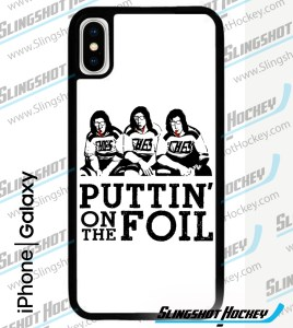 Puttin' on the Foil Phone Case