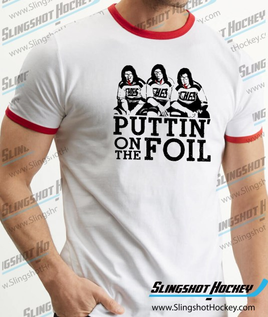 puttin-on-the-foil-hanson-brothers-slap-shot-ringer-white-red-hockey-tshirt-SH