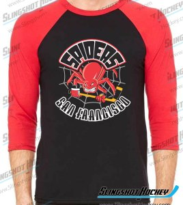 San-Francisco-Spiders-raglan-black-red-slingshot-hockey