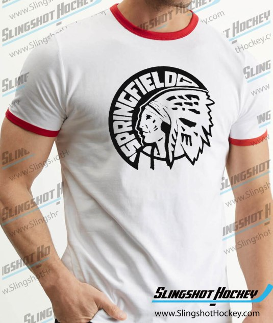 Springfield-Indians-ringer-white-red-hockey-tshirt-SH