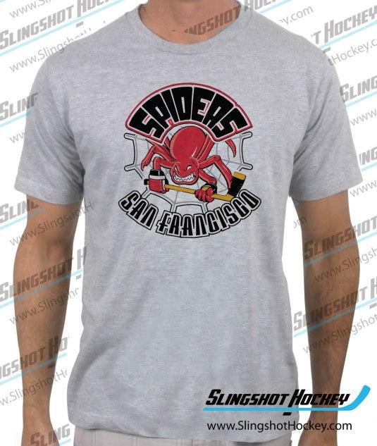 San_Francisco_Spiders-heather-grey-tshirt